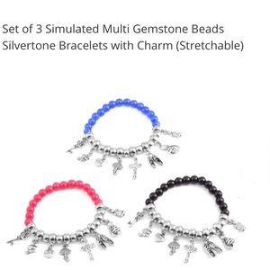 Jewelry - Bracelets🔥Set of 3 Charm/bead bracelets